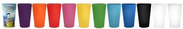 gobelet réutilisable coloris